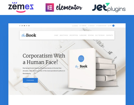 The Book - Single Book WooCommerce Theme