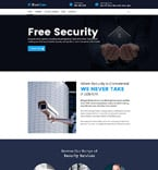 Security WordPress Template 62112
