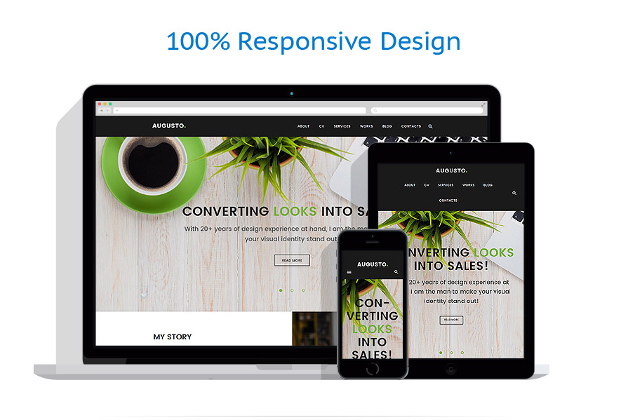 Thèmes WordPress Web design #62113