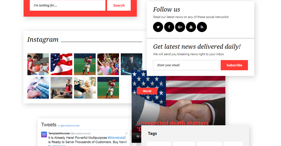 The Daily Post - Media & Latest News WordPress Theme