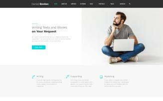 Daniel Booker - Elegant Personal Page Multipage HTML Website Template