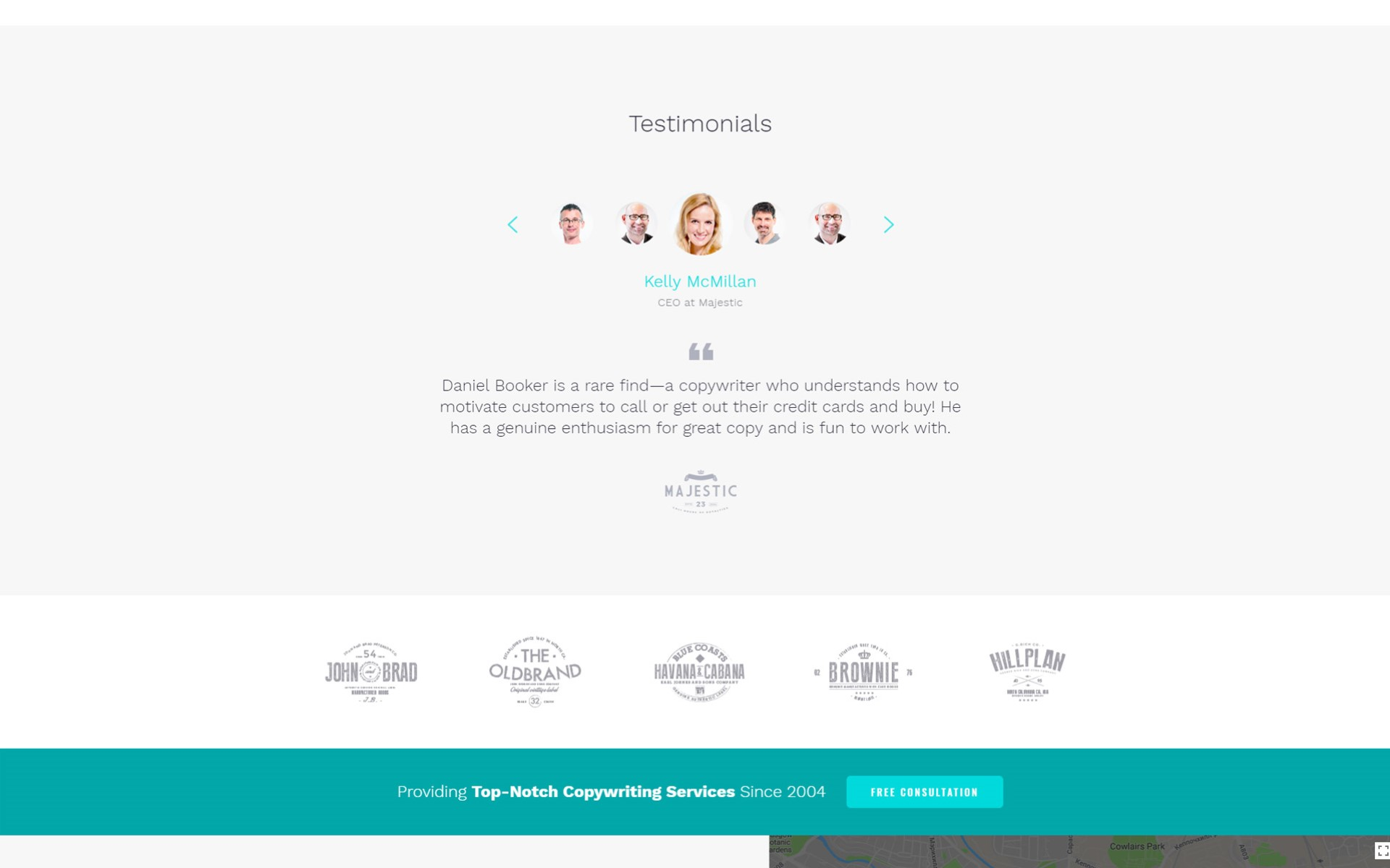 Personal Page Multipage HTML Template