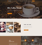 Кафе, рестораны, клубы. Шаблон сайта 62130