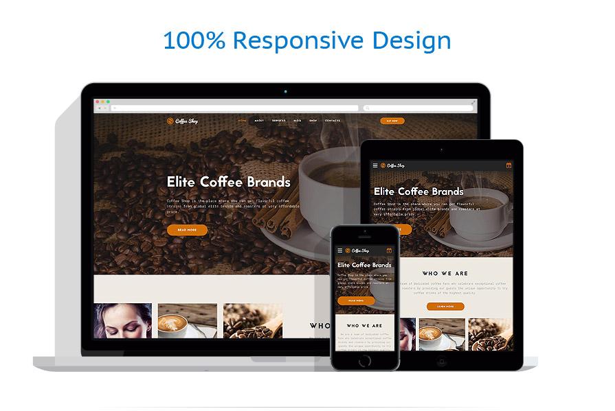 Modèles HTML5 Café et Restaurant #62130