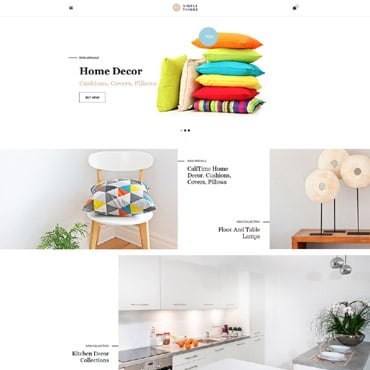 Preview image of Interior & Furniture VirtueMart Template No. 62131