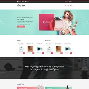 Screenshot of Axonnie Perfume Online