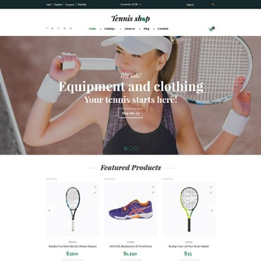 Preview image of Tennis Shop