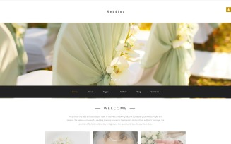 Wedding Planner Responsive Joomla Template