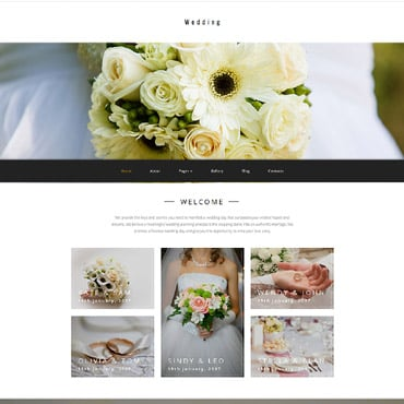 Preview image of Wedding Joomla Template No. 62148