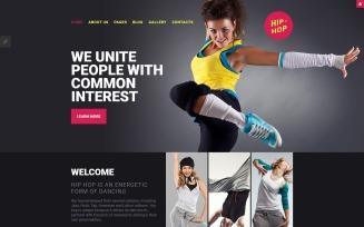 Hip-Hop - Dance Studio Responsive Joomla Template