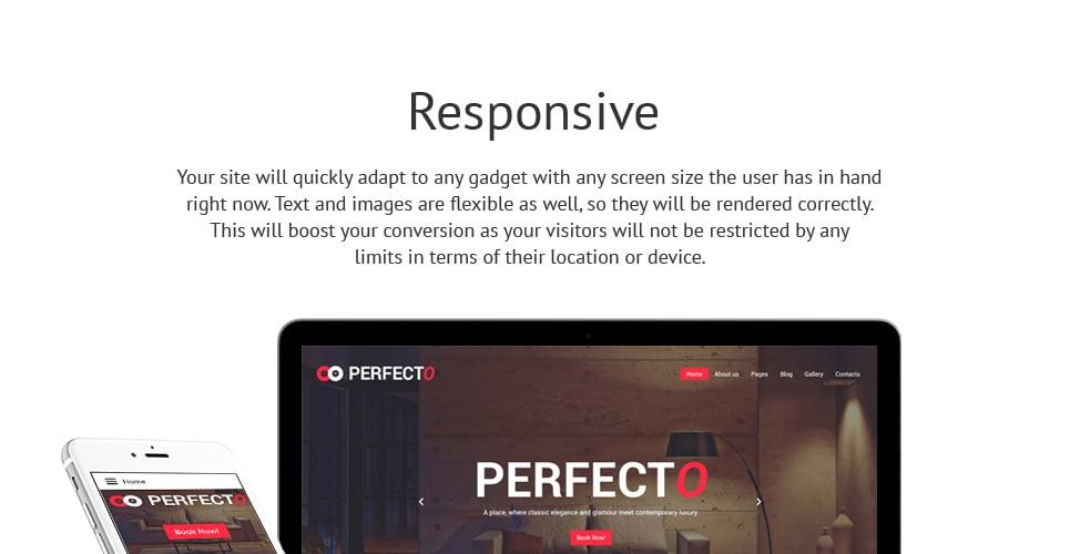 Perfecto - Luxury Hotel Responsive Joomla Template