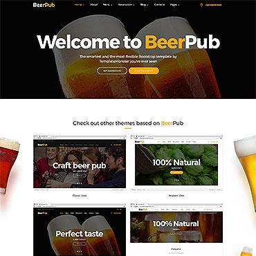 Brewery Templates Website Template Website Templates