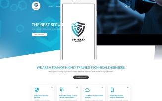 Shield - The Best Security App Joomla Template