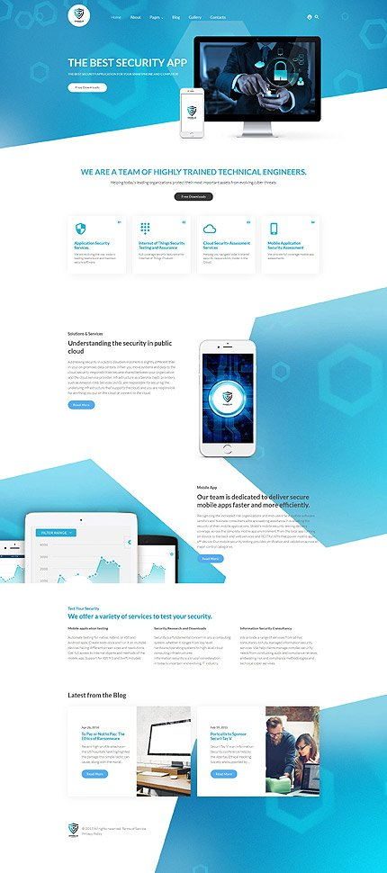 Shield - The Best Security App Joomla Template 3