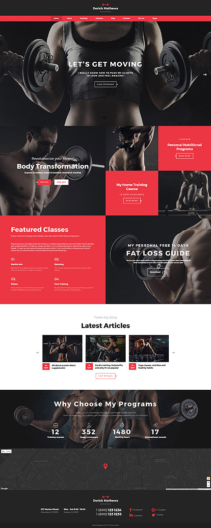 Website Template #62181