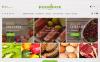 Responsivt PrestaShop-tema för matbutik En stor skärmdump