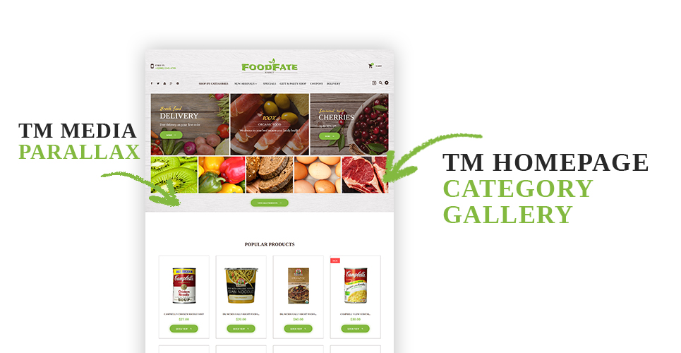 Website Design Template 62186 - manufacturer production fresh beverage psd template wine cake cakes feast tasty delicious gourmet vegetables fruits