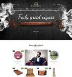 Табачные шаблоны. Шаблон сайта 62199