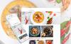 Адаптивний Joomla шаблон на тему кулінарія New Screenshots BIG