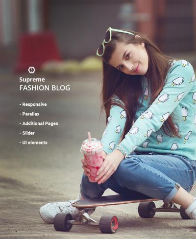 Fashion Responsive Joomla шаблон