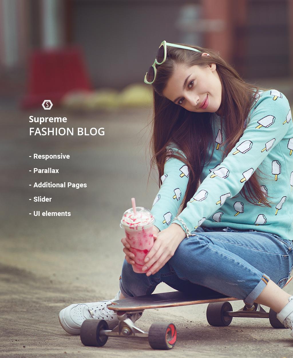 Адаптивный Joomla шаблон №62152 на тему мода