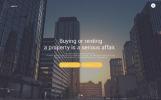 Адаптивный Joomla шаблон №62160 на тему недвижимость