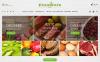 Адаптивный PrestaShop шаблон №62178 на тему магазин еды New Screenshots BIG