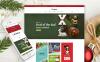 Адаптивный VirtueMart шаблон №62136 на тему рождество New Screenshots BIG