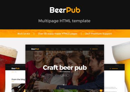 Beer Pub HTML