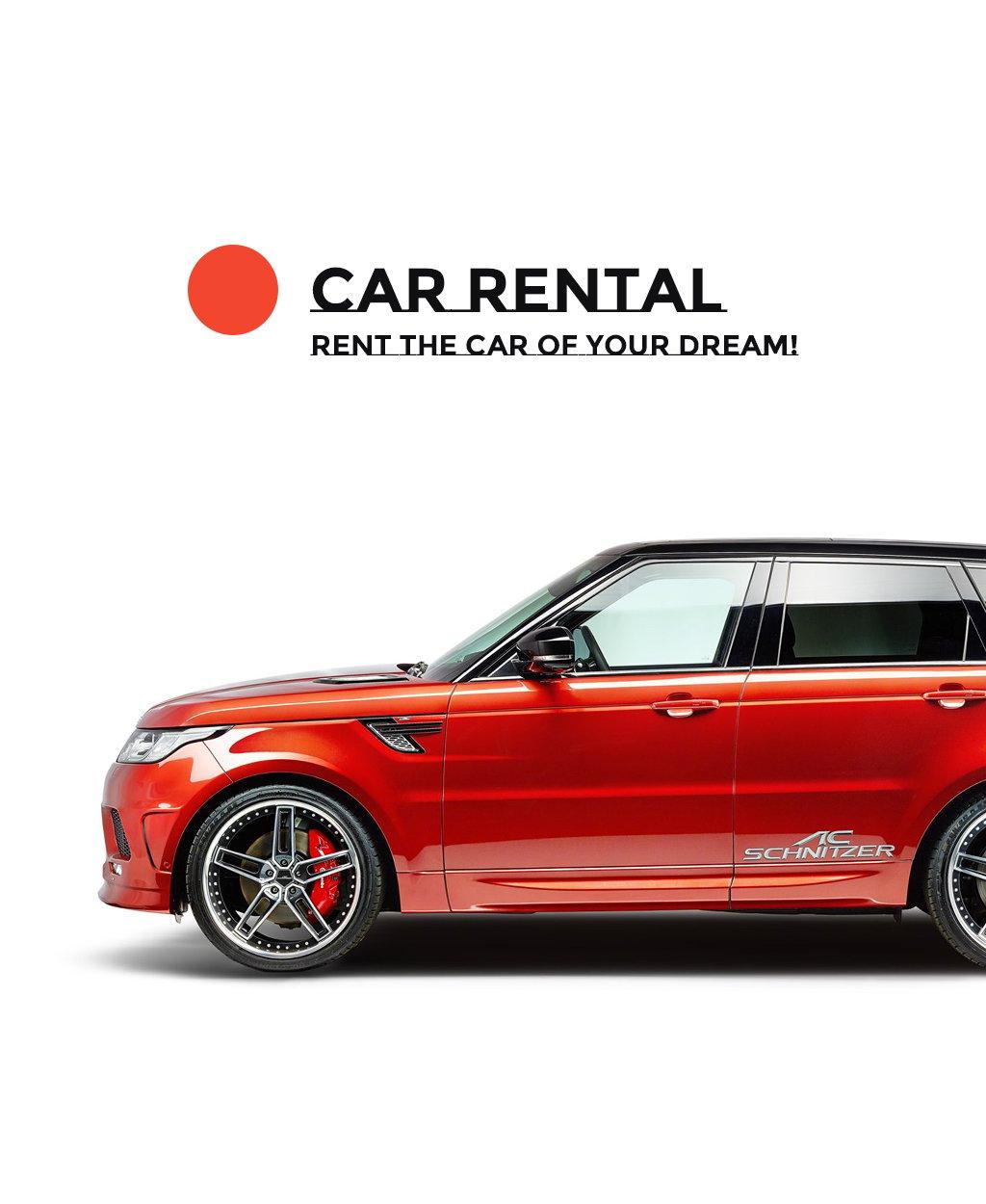 Car Rental Responsive Joomla Template - screenshot