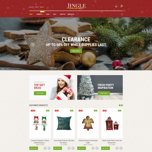Jingle - Shopify Template based on Bootstrap