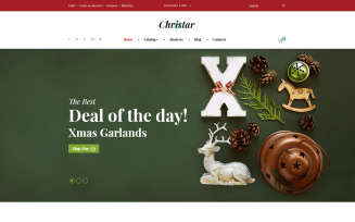 Christmas VirtueMart Template