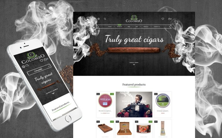 Colombo - Tobacco Shopify Theme New Screenshots BIG