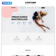 3992f8ba2e8 Contemp - Dance School Multipage Creative Bootstrap HTML