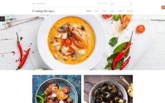 Cooking Recipes Responsive Joomla Template