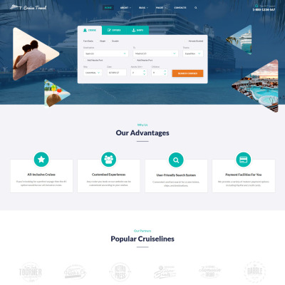 42+ Best Travel Agency Website Templates