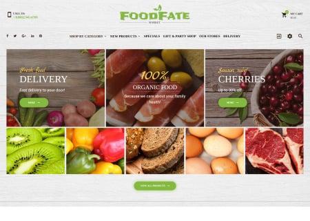 FoodFate - Food Store