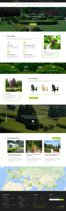 Garden Design Templates TemplateMonster