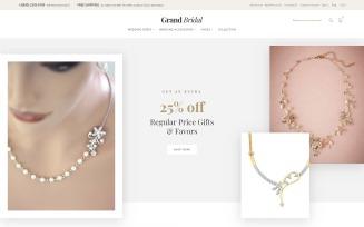Grand Bridal - Bridal Store Magento Theme