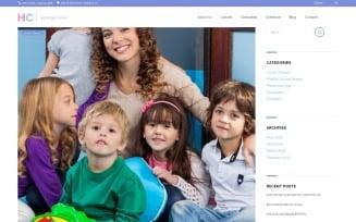 Highridge Center - Kindergarten & Child Care WordPress theme