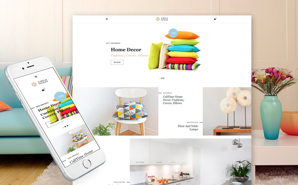 Home Decor Responsive VirtueMart Template New Screenshots BIG