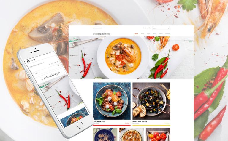 modello joomla responsive 62147 per un sito di cucina new screenshots big