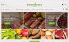 Responsive Yiyecek Mağazası  Prestashop Teması Büyük Ekran Görüntüsü