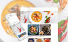 "Responzivní Joomla šablona ""Cooking Recipes Responsive"" New Screenshots BIG"