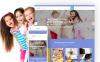 Reszponzív Bölcsöde témakörű  WordPress sablon New Screenshots BIG