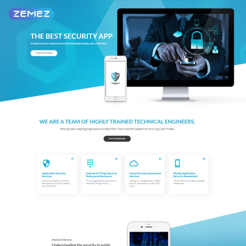 Shield  - Joomla! Template based on Bootstrap
