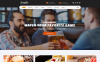 """Sports Bar & Restaurant Multipage"" Responsive Website template Groot  Screenshot"