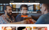 Sports Bar & Restaurant Multipage Template Web №62173