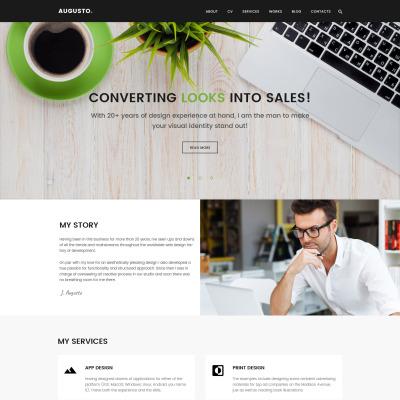 Tema de WordPress #62113 para Sitio de Diseño Web