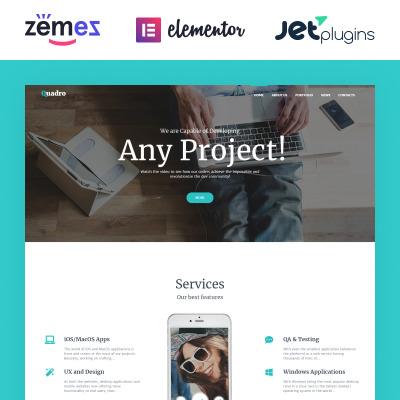 Temas WordPress para Sitios de Empresas de Software